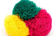 Pompoms for beanies / Custom made pompoms for beanies and other apparel