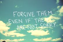 ~Forgiveness is a gift to myself~