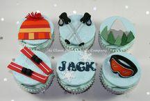 Kids birthday party -ski