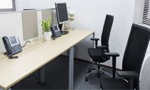 Business Center / Business Center provide a full fledged office space solutions. be it office spaces, meeting rooms or the services of virtual office.