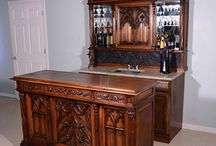 Bars and Backbars / Custom Antique bars for restaurants, wineries, breweries and your home!