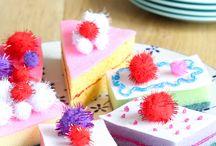 taartjes knutselen