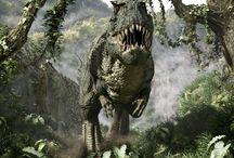 Dinosaurios / Este tablero va dedicado a mi infancia. De pequeño adoraba los dinosaurios y, aunque con menos ímpetu, me siguen interesando mucho.