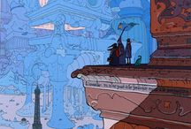moebius/jean gireau / About Jean Gireau and specially about his work under his nick Moebius. He inspired Berth more than any other artist