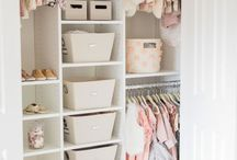 Closet org+ideas+decor