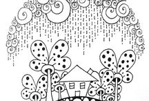 zentangles & doodles / by Sylvette Fortin