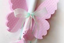 tarjetas invitación mariposas