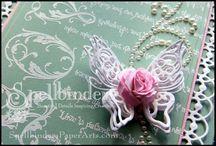 Wedding Card Tutorials / by Spellbinders