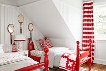 Decorating with red / Udekoruj swoje wnętrze w najgorętszą ze wszystkich barw, jest to kolor życia i emocji. Przyciąga uwagę, stymuluje do działania, symbolizuje pewność siebie.