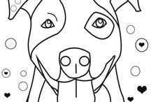 pittbull quilting pattern