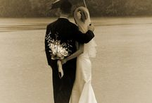 Wedding in rain