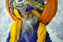 Turban and Beard / Sardari only with turban and beard