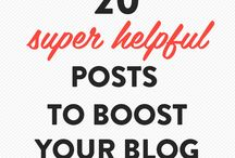B L O G // Inspiration / Posts and pins to help with blogging