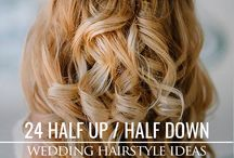 wedding hair styles / wedding hairstyles for Hayley