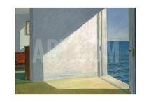 Edward Hopper Interior Design Prints / Edward Hopper