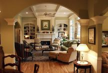 Living room design / by Plum Pudding