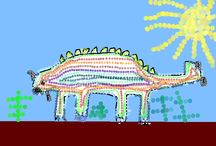 Dotty, Digital Dinosaurs / Year 1 take dinosaur art to a whole new level in ICT