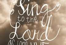 Sing to the Lord / Playlist and songs to grow your worship experience.