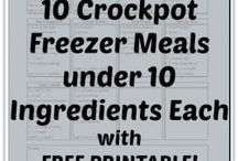 Crockpot Freezer Meals / by Cami