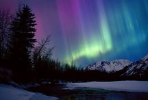 Northern lights / Marvels of Nature from the North Magnetic Pole.