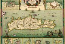 ΧΑΡΤΕΣ και ΓΡΑΒΟΥΡΕΣ της ΚΡΗΤΗΣ / [..Το Βασίλειον της Κρήτης - Cretae Regnum, Francesco Basilicata, 1618. Ηράκλειο, «Μικρός Ναυτίλος» - Βικελαία Βιβλιοθήκη - ΤΕΔΚ Κρήτης, 1994...Πηγή.http://el.travelogues.gr/collection.php?view=232 ]