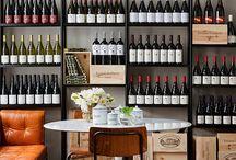 Wine & Gourmet Shop Idea Board