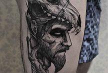 tattoos men leg