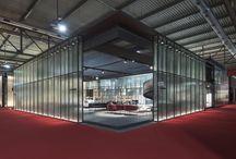 Salone del Mobile 2017 / Salone del Mobile 2017, Living Divani booth project by Piero Lissoni, styling by Studio Ossino. Photo by Cesare Chimenti