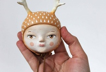 toys&dolls&small sculptures / by olga n