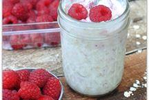 Recipes - overnight oats