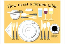 Poner la mesa.