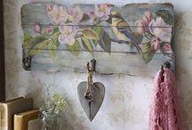 dřevěná dekorace