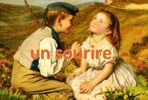 Citations et tableaux, Gabrielle Dubois / Voici des tableaux du 19ème siècle sur lesquelles j'ai inscrit des citations d'auteurs, dont les miennes. Uniquement des citations plaisantes et qui donnent le sourire !