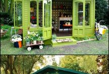 Garden sheds and retreats