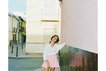FUENSANTA / Shirt: Mango Skirt: HyM Shoes: Marypaz Bag: Pasfoir