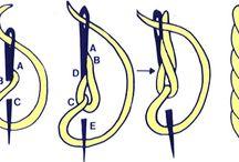 technika haftu sznurkiem