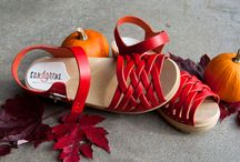Halloween Collection / Pumpkins, tricks&treats and maybe a new pair of clogs? The Halloween Collection are clog and clog boots in scary blacks and fiery orange hues. Happy Halloween! / by Sandgrens Clogs