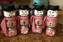 Christmas Holiday Crafts, Gift Ideas, and Decorations / Simple crafts and decoration ideas
