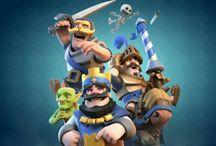 Clash royale&Clash of clans