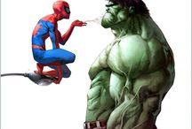Graphic novels/comics and superheros