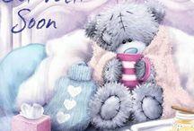Get well soon / wishing you well sayings