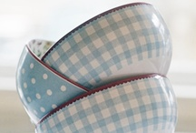 blue bluer bluest / blue gingham, blue china, blue toiles, anything blue