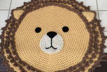Crochês  leão