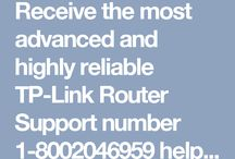 Tp-link Router Support Number 1-8002046959