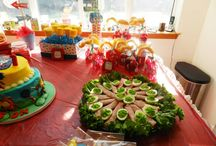 Dr. Seuss and Lorax Birthday Party Ideas!! / I took lots of pictures of food and decorations as well as did a video for you to see how create some of these things for your very own themed birthday party.