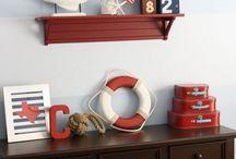 Luke's nautical bedroom / by Liz Whelan