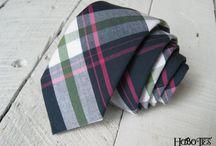 Neckties / Handcrafted neckties. Handmade neckties by HoBo Ties. Local handmade mens accessories.