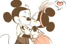 Mickey e minnie / Love