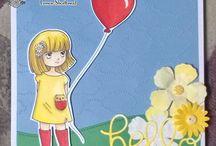 Sarah Bell's Lemon Shortbread DT Cards