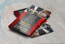 Cartões de Visita / Alguns dos cartões criados pela www.ideiasetal.com.br.